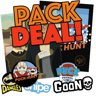 Poster and Sticker Pack Deal